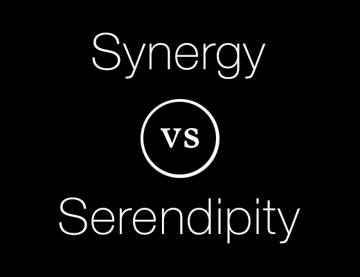Synergy vs Serendipity